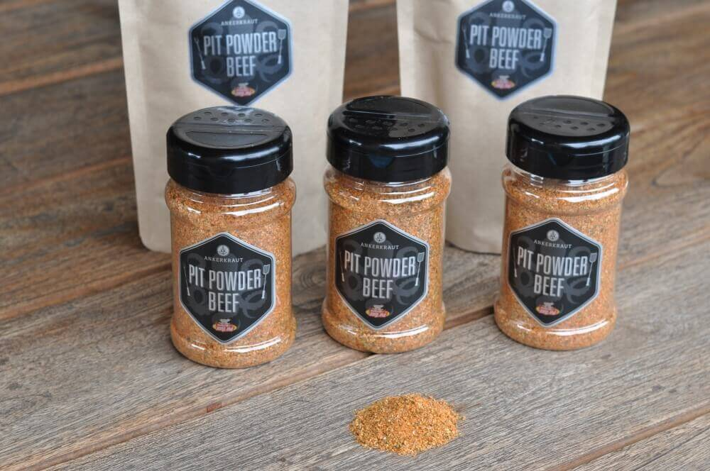 Pit Powder Beef Pit Powder Beef - BBQ-Rub für Brisket & Beef Ribs-pit powder beef-PitPowderBeef01