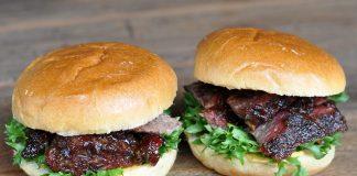 Beef Rib Sandwich