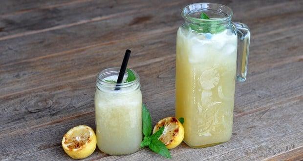 grilled lemonade limonade mit gegrillten zitronen grilled lemonade ...