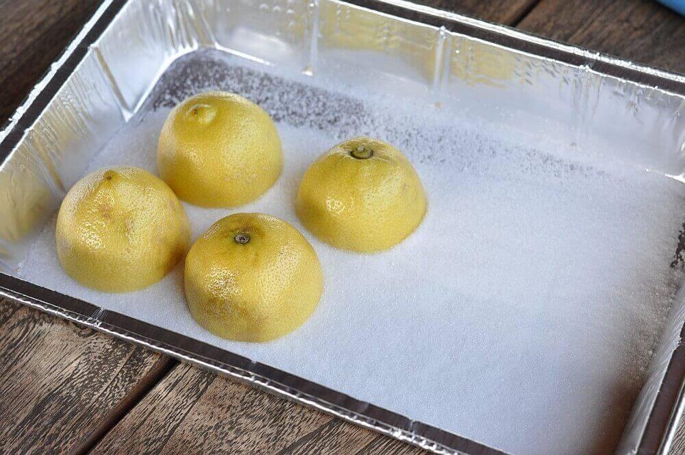 Grilled Lemonade / Limonade mit gegrillten Zitronen