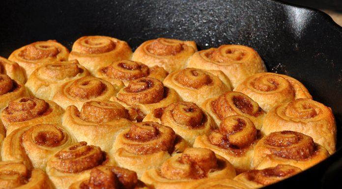 Mini Croissant Zimtschnecken