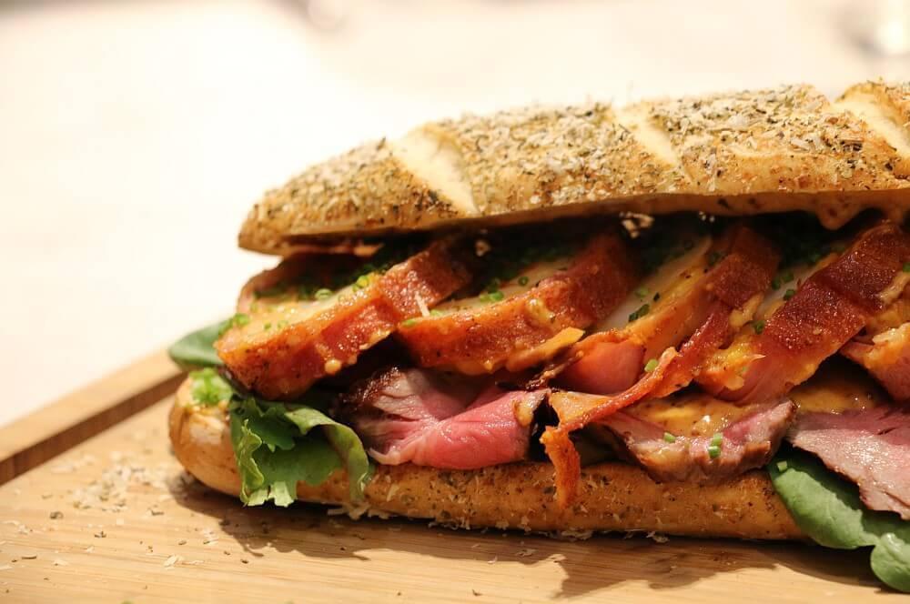 Po' Boy Sandwich Po' Boy Sandwich – das Südstaaten-Sandwich aus Lousiana-po' boy sandwich-PoBoySandwich05
