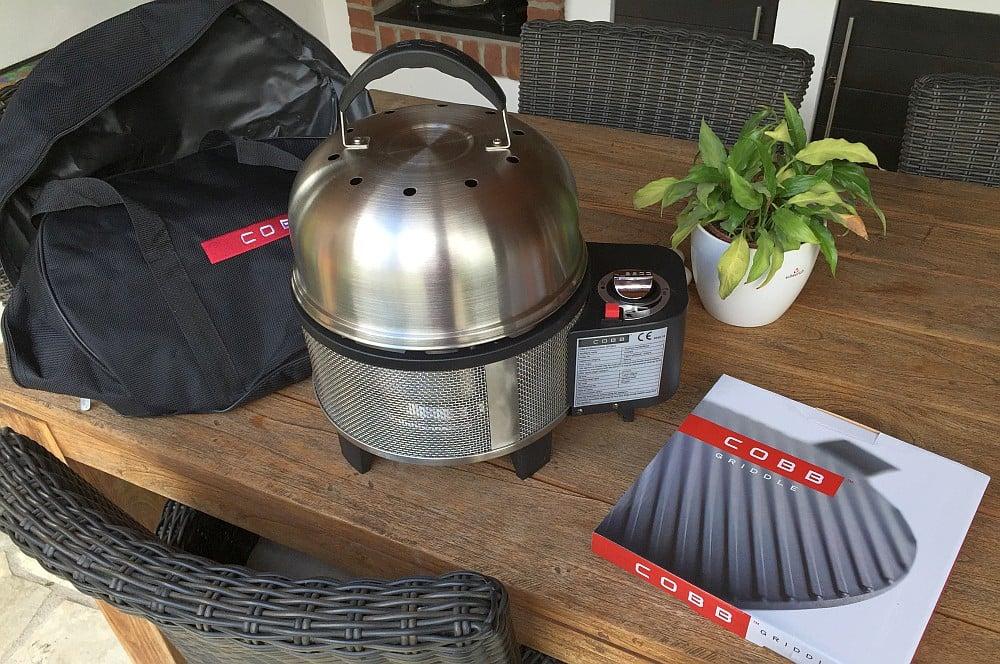 cobb premier gas grill im test auf sylt. Black Bedroom Furniture Sets. Home Design Ideas