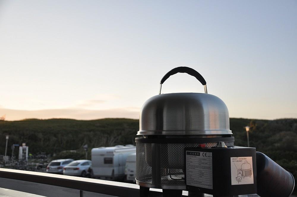 Cobb Premier Gas cobb premier gas grill-CobbGasGrillTest05-Cobb Premier Gas Grill im Test auf Sylt