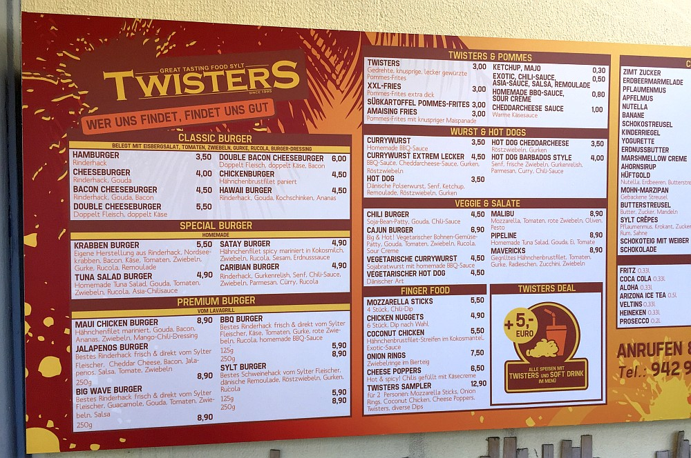 Twisters Sylt Twisters Sylt – Burger Grill & Tiki Diner-twisters sylt-TwistersSylt02