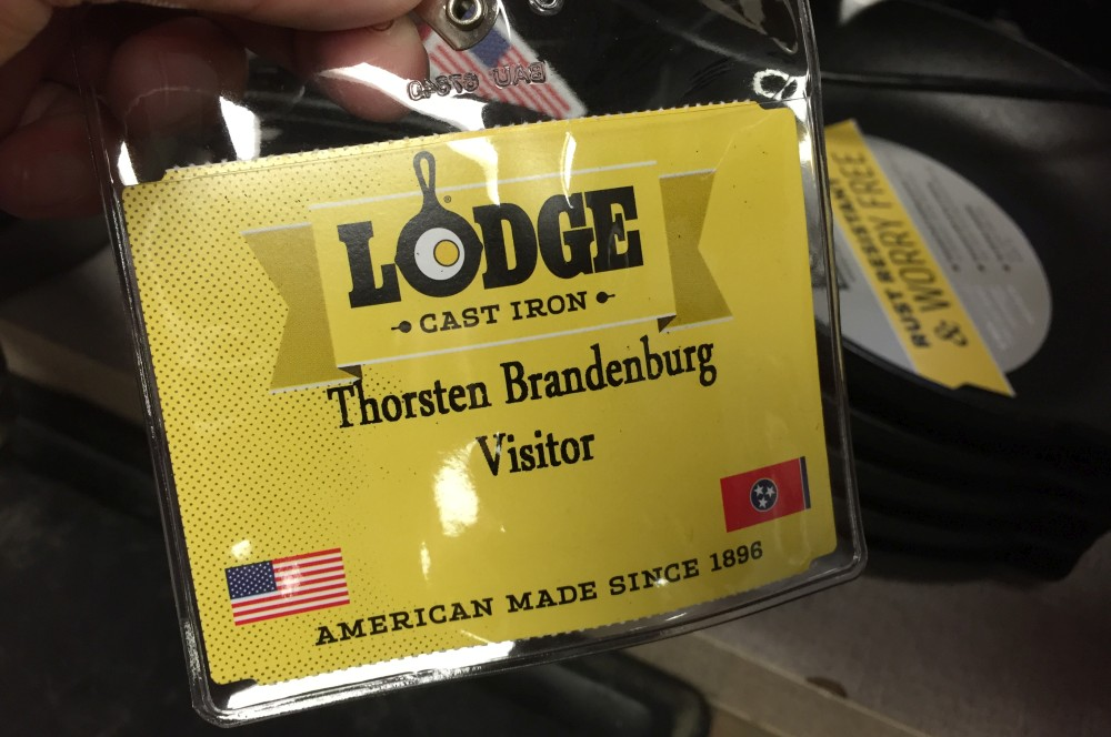 Lodge Zu Besuch bei der Lodge Gusseisenproduktion in Tennessee-Lodge-Lodge18