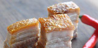 Perfekte Kruste Schweinebauch