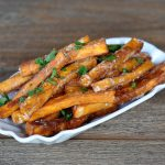 Knusprige Süßkartoffel-Pommes knusprige süßkartoffel-pommes-KnusprigeSuesskartofelpommes 150x150-Knusprige Süßkartoffel-Pommes – so gelingen sie perfekt!