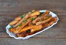 Knusprige Süßkartofel-Pommes