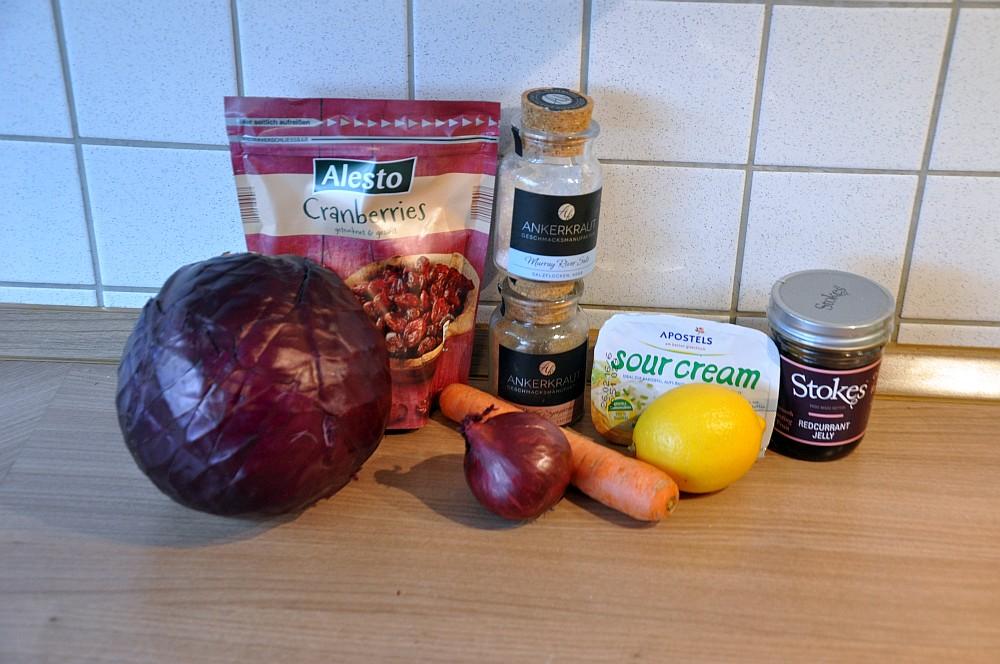 Rotwe Cole Slaw mit Cranberries rotkohlsalat-Rotkohlsalat01-Fruchtiger Rotkohlsalat mit Cranberries – Red Cabbage Slaw