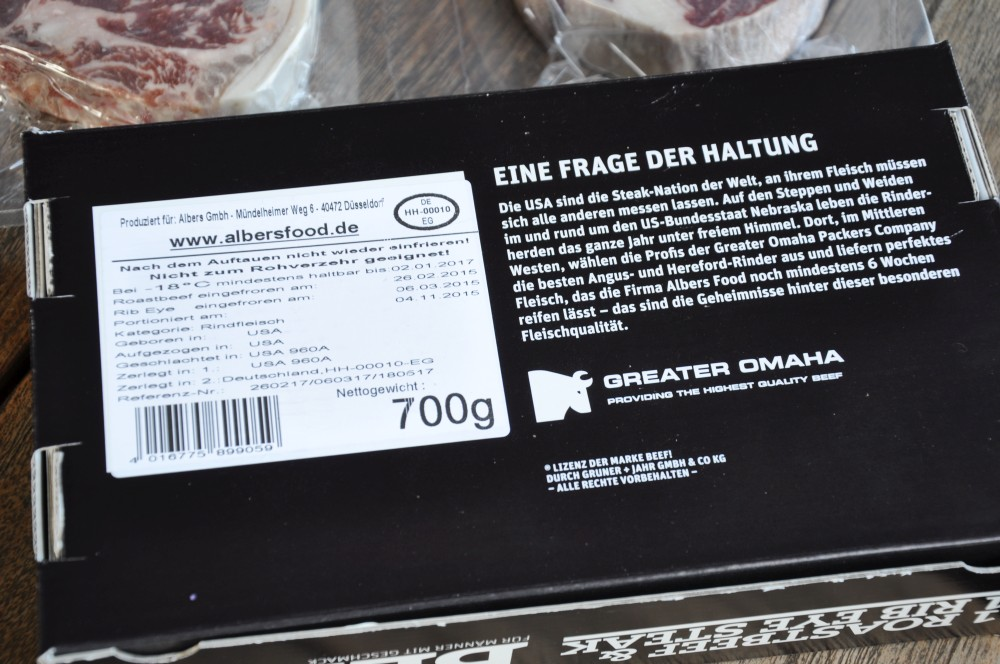 BEEF!-Box beef!-box-BeefBox01-BEEF!-Box mit US-Roastbeef und Rib Eye Steak