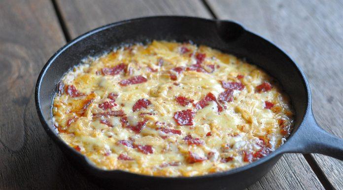 Käse-Dip Pastrami