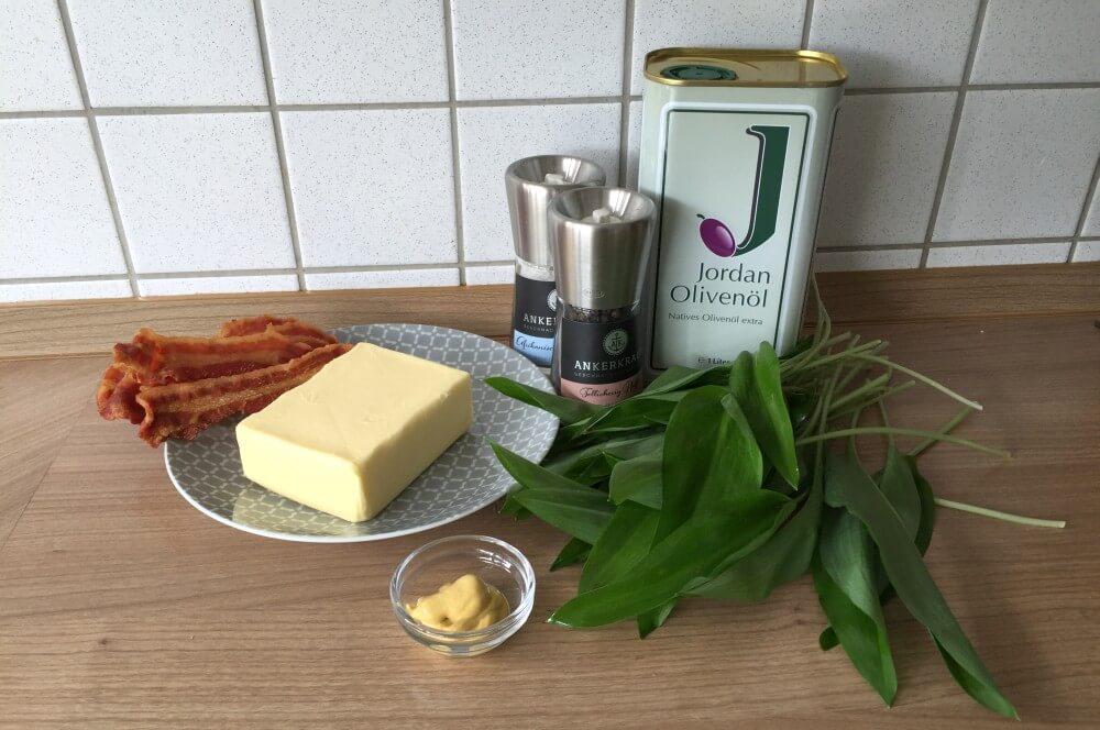 Bärlauch-Butter Bärlauch-Butter mit Bacon-Crunch-bärlauch-butter-Baerlauch Butter Bacon 01