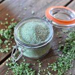 Kräutersalz Bärlauch-Salz – Kräutersalz selber machen-bärlauch-salz-Baerlauch Salz Kraeutersalz selber machen 150x150