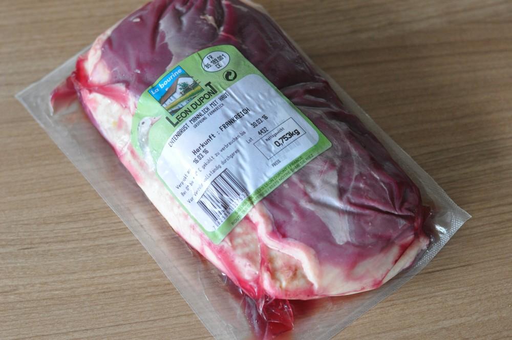 Label Rouge Entenbrust Heiß-geräucherte Entenbrust aus dem Kirschrauch-geräucherte entenbrust-HeissGeraeucherteEntenbrustfilets01