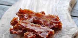 Perfekter Bacon Mikrowelle