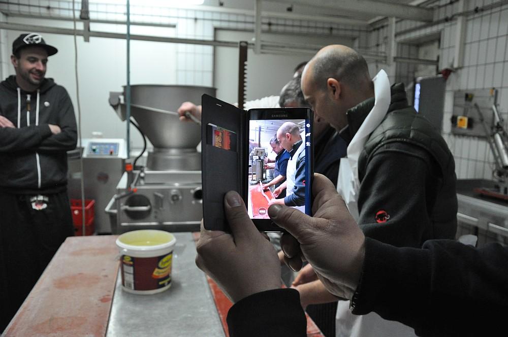 Bratwurst-Seminar bei Fleischerei Laschke in Heek-bratwurst-seminar-Wurstseminar Fleischerei Laschke Heek 07