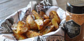 Kartoffelecken vom Grill