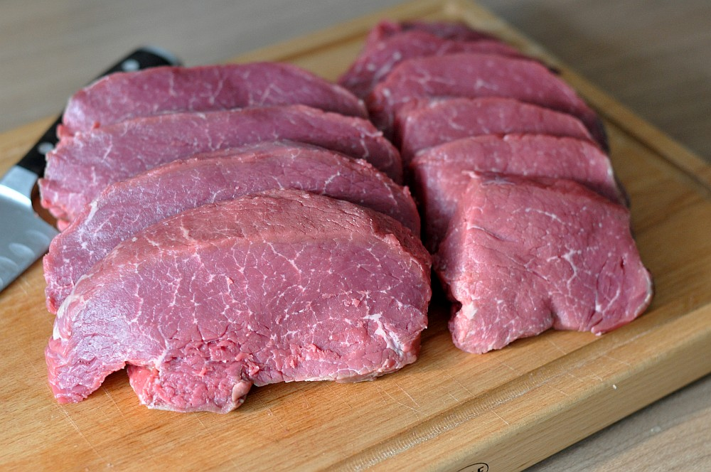 Hüftsteaks Rinderhüfte in Steaks zerlegen – Steakhüfte richtig schneiden-rinderhüfte-Rinderhuefte Steakhuefte zerlegen steaks richtig schneiden 06