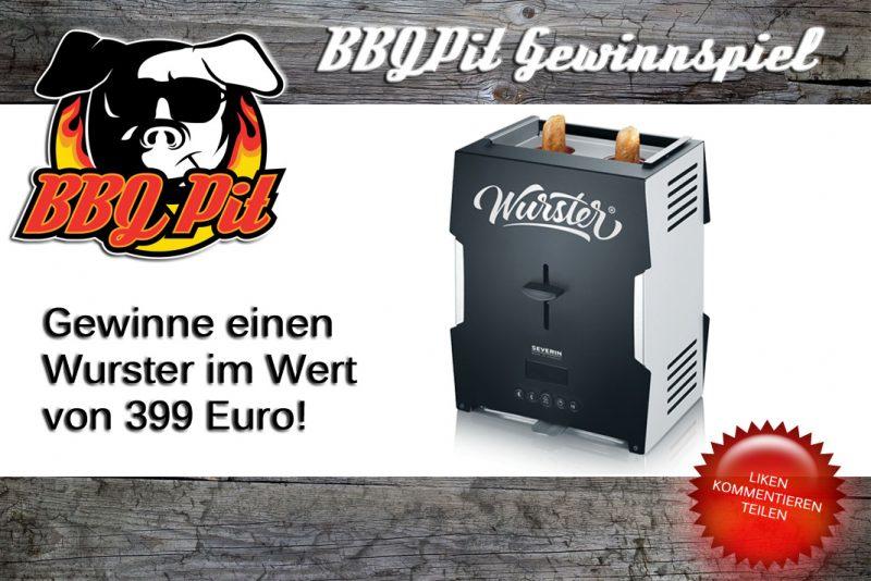 Wurster-Gewinnspiel-Wurster Gewinnspiel BBQPit 800x534-Wurster-Gewinnspiel: Gewinne einen Wursttoaster im Wert von 399 Euro!