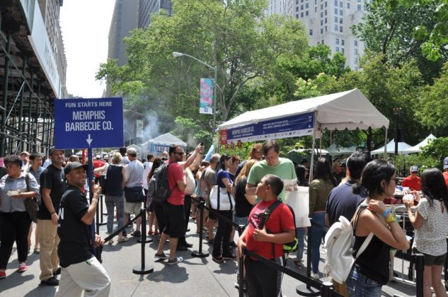 big apple bbq block party-Big Apple BBQ Block Party 2016 47 633x420-Big Apple BBQ Block Party 2016 in New York