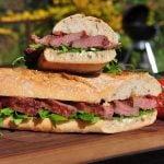 Ibérico-Sandwich mit Apfelchutney und Rucola-ibérico-sandwich-Iberico Sandwich Presa 05 150x150