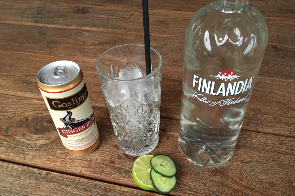Munich Mule Moscow Mule-Moscow Mule Zutaten-Moscow Mule – Cocktail mit Vodka, Limette und Ginger Beer