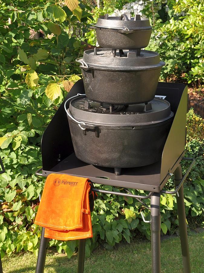 Petromax Feuertopf Tisch fe45 Petromax Dutch Oven Tisch / Feuertopf-Tisch fe90 und fe45-dutch oven tisch-Petromax Dutch Oven Tisch Feuertopf FE45 01