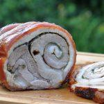 Porchetta – gerollter Schweinebauch vom Drehspieß-porchetta-Porchetta Gerollter Schweinebauch 150x150