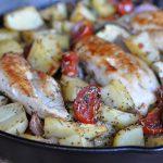 Mediterrane Hähnchenpfanne Mediterrane Hähnchenpfanne mit Tomaten und Zucchini-mediterrane hähnchenpfanne-Mediterrane Haehnchenpfanne 150x150