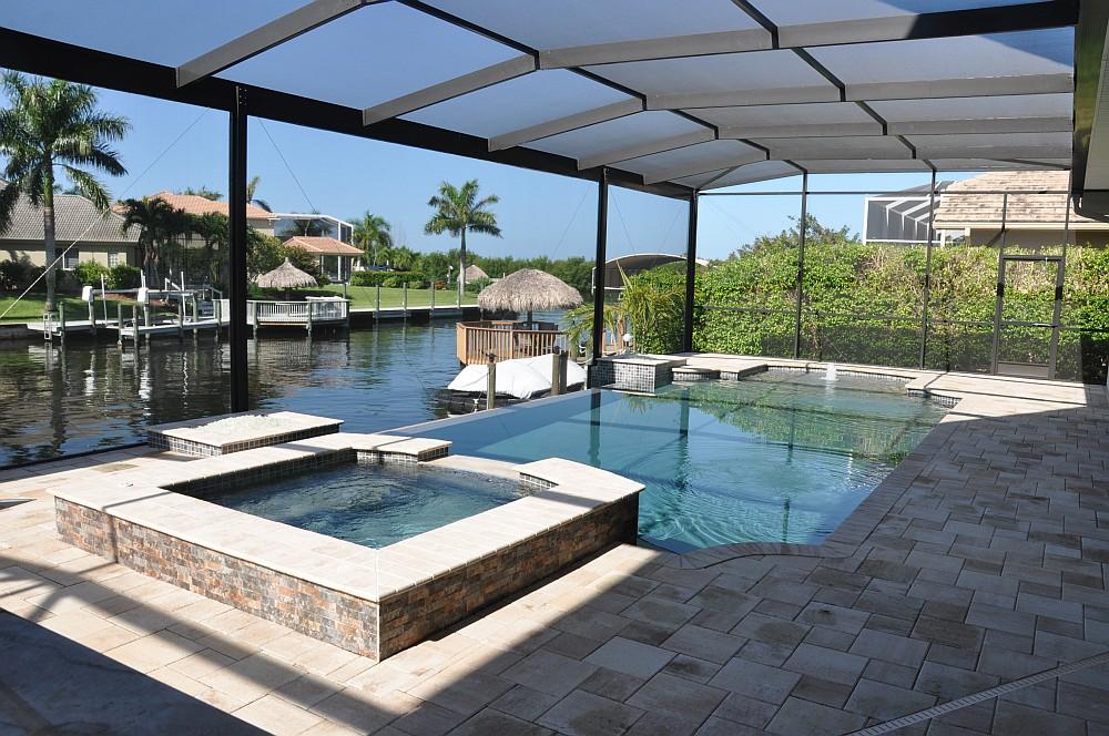 """Poolvilla Cape Coral Villa Sedona in Cape Coral / Florida – die """"Grillvilla""""-villa sedona-Villa Sedona Cape Coral Florida Grillvilla 02"""