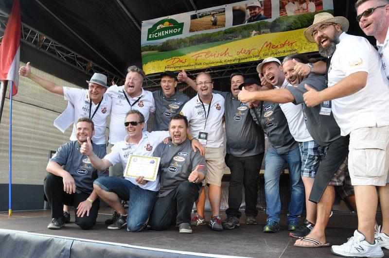 Grill-Europameisterschaft 2016-BBQ Europmeisterschaft 2016 Bremen BBQ Wiesel 800x531-Grill-Europameisterschaft 2016: BBQ Wiesel werden Vize-Europameister