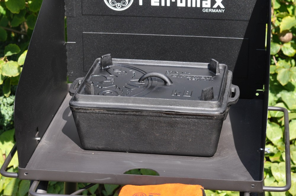 petromax kastenform Petromax Kastenform K8 – eckiger Dutch Oven aus Gusseisen-petromax kastenform k8-Petromax Kastenform K8 04