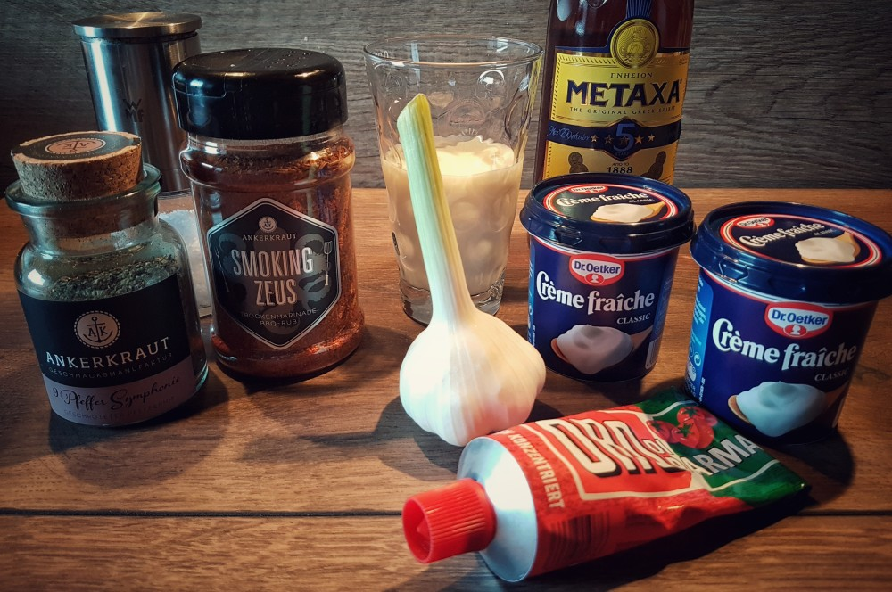 Zutaten Metaxasauce Metaxa-Sauce – Rezept und Anleitung für die griechische Sauce-metaxa-sauce-Metaxa Sauce Griechisch 01