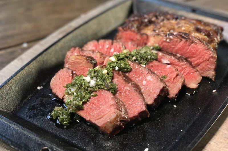 irisches entrecôte-Irisches Entrecote Steak dry aged RibEye Chimichurri 800x531-Irisches Entrecôte-Steak / dry-aged RibEye mit Chimichurri