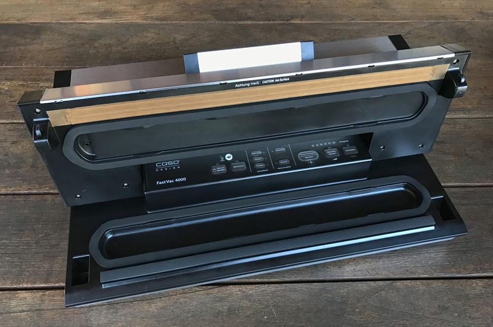 Vakuumierer mit 40 cm Breite CASO FastVac 4000 im Test – Vakuumierer mit 40 cm Breite-caso fastvac 4000-Caso FastVac 4000 Vakuumierer 40cm Breite 03