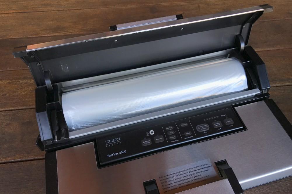 Folienbox CASO CASO FastVac 4000 im Test – Vakuumierer mit 40 cm Breite-caso fastvac 4000-Caso FastVac 4000 Vakuumierer 40cm Breite 04