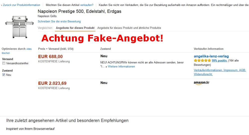 Warnung vor Fake-Angeboten bei Amazon Warnung vor Fake-Angeboten im Internet (z.B. Amazon)-fake-angeboten-Fake Angebote Amazon 01
