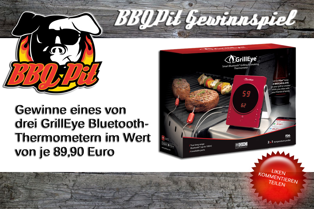 GrillEye Bluetooth-Thermometer GrillEye-Gewinnspiel – Gewinne das GrillEye Bluetooth-Thermometer-GrillEye-Gewinnspiel-Grilleye Gewinnspiel 2017
