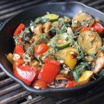 Gegrilltes Gemüse Grillgemüse mit Feta-grillgemüse-Grillgemuese mit Feta Gusspfanne 150x150