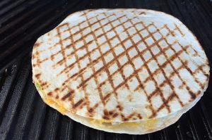 quesadillas-Quesadillas Bacon 04 300x199-Quesadillas mit Bacon und Frühlingszwiebeln