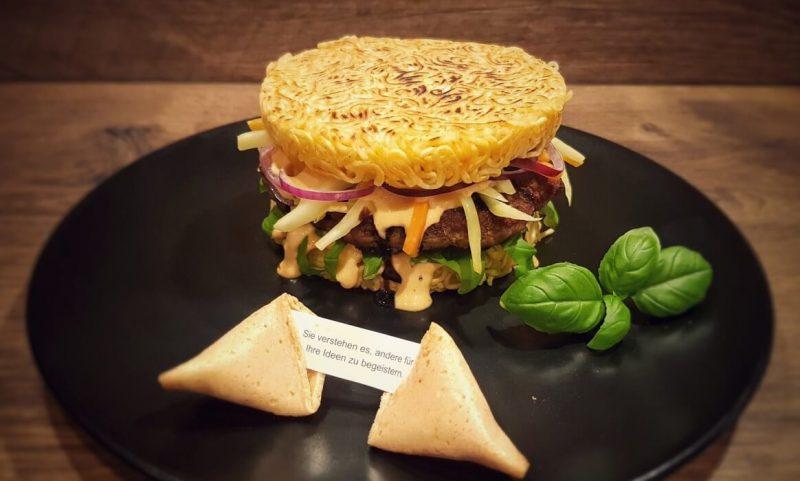 Ramen Burger-Asiatischer Ramen Burger 800x481-Ramen Burger Asia-Style