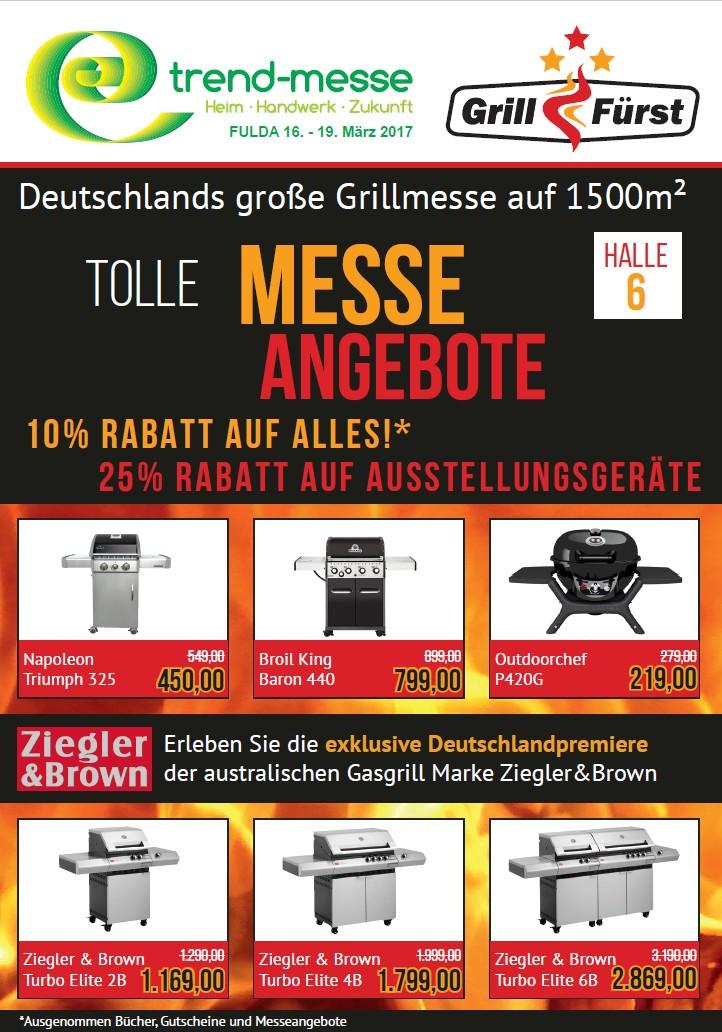 Grillfürst Grillmesse vom 16.-19. März 2017 auf der Trendmesse Fulda-grillfürst grillmesse-Grillfuerst Messeangebote 01