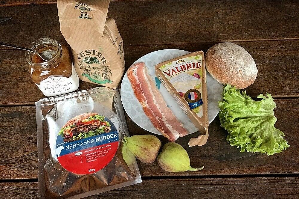 Nebraska Burger Brie Burger mit Feige und Bacon-brie burger-Brie Burger mit Feigen 01