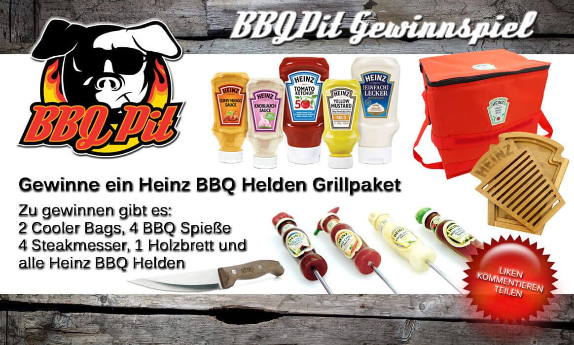 Heinz BBQ Helden Gewinnspiel Gewinne ein Heinz BBQ Helden Grillpaket-heinz bbq helden-GewinnspielHeinzBBQHelden