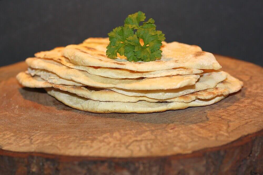Naan-Brot Naan-Brot selber machen – Rezept für die indischen Brotfladen-Naan-Brot-Naan Brot 04