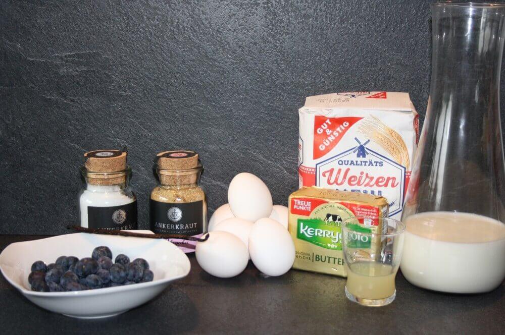 Zutaten Dutch Pancakes dutch pancake-Dutch Pancake Ofenpfannkuchenmit Blaubeeren 01-Dutch Pancake – Ofenpfannkuchen mit Blaubeeren