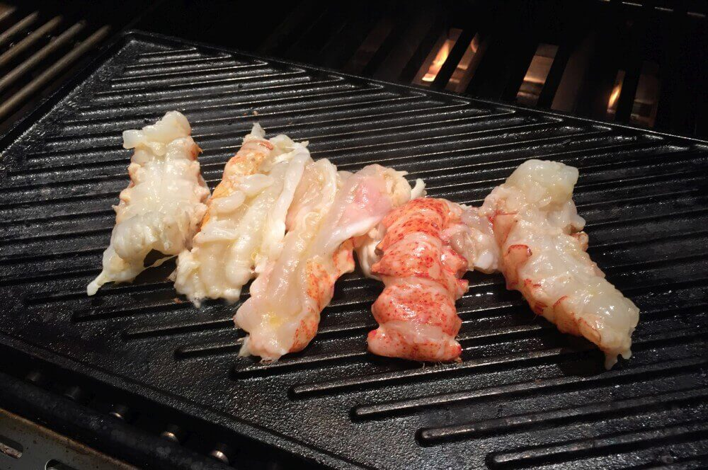 Langustenschwänze Lobster Roll – Gegrillter Langustenschwanz im Brötchen-lobster roll-Lobster Roll Hummerbroetchen 02