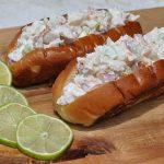 Hummerbrötchen Lobster Roll – Gegrillter Langustenschwanz im Brötchen-lobster roll-Lobster Roll Hummerbroetchen 150x150