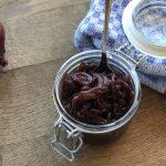 Zwiebelmarmelade zwiebel-chutney-Zwiebel Chutney Balsam 150x150-Zwiebel-Chutney mit Whiskey- und Schwarzkirsch-Balsam